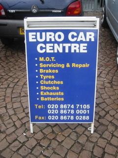 Euro Car Centre Mot Service And Repair Centre Tulse Hill Se24